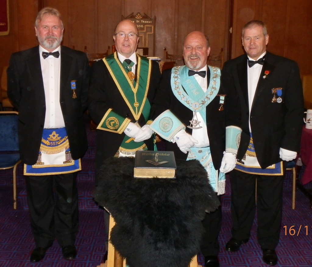 St. Andrews Milatry No. 668 Installation 161115